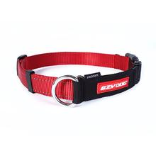 EzyDog Checkmate Limited-Slip Dog Collar - Red