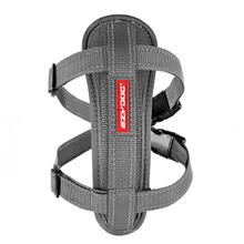 EzyDog Chest Plate Dog Harness - Gray