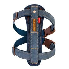 EzyDog Chest Plate Dog Harness - Denim