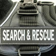 EzyDog Side Patches for Convert Harness - Search & Rescue