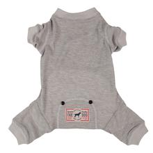 fabdog® Thermal Dog Pajamas - Gray