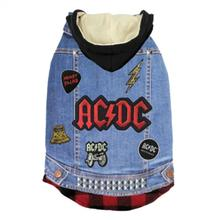 fabdog® AC/DC Denim Dog Jacket