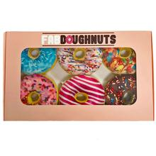 fabdog® Box of 6 Doughnuts Dog Toy