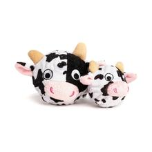fabdog® Country Critter faball® Dog Toy - Cow