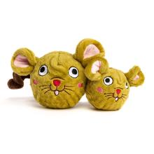 fabdog® Country Critter faball® Dog Toy - Mouse