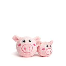 fabdog® Country Critter faball® Dog Toy - Pig