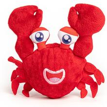 fabdog® Crab faball Squeaky Dog Toy