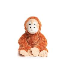 fabdog® fabtough™ Fluffy Plush Dog Toy - Orangutan