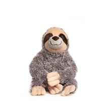 fabdog® fabtough™ Fluffy Plush Dog Toy - Sloth