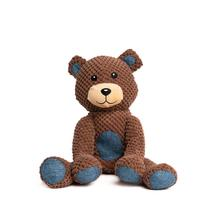 fabdog® Floppy Friends Dog Toy - Brown Teddy Bear