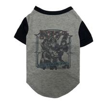 fabdog® KISS '76 Tour Dog T-Shirt - Gray