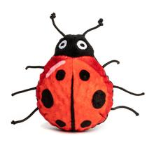 fabdog® Lady Bug faball Squeaky Dog Toy