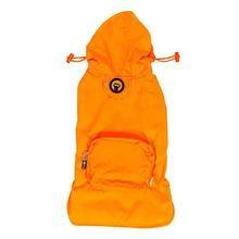 fabdog® Pocket Fold Up Dog Raincoat - Orange