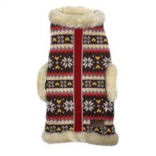fabdog® Vail Lodge Shearling Dog Jacket