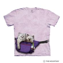 Fanny Pack Kittens Human T-Shirt by The Mountain