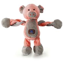 Farm Pulleez Dog Toy - Pig