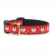Chickens Dog Collar by Up Country