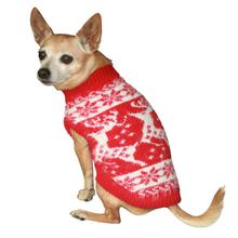 Feathersoft Reindeer Dog Sweater By Hip Doggie