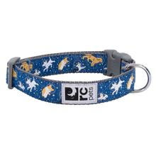 Space Dogs Adjustable Clip Dog Collar By RC Pets