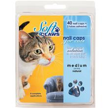 Feline Soft Claws Nail Caps Home Kit - Blue
