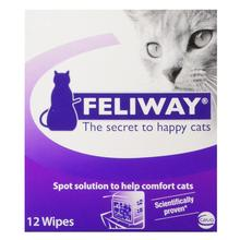 Feliway Calming Travel Wipes for Cats - 12 Pack