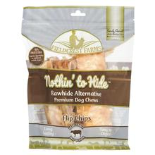 Fieldcrest Farms Nothin' to Hide Flip Chips Dog Treat - Beef