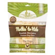 Fieldcrest Farms Nothin' to Hide Flip Chips Dog Treat - Chicken