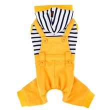Finn Dog Jumpsuit by Puppia - Yellow