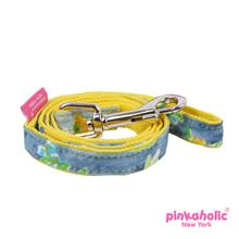 Fiore Dog Leash by Pinkaholic - Yellow
