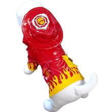 Fire Chief Dog Raincoat by Cha-Cha Couture