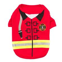Firebarker Firefighter Dog Costume Shirt