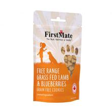 FirstMate Grain Free Cookie Dog Treats - Lamb & Blueberries
