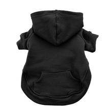 Flex-Fit Dog Hoodie by Doggie Design - Black