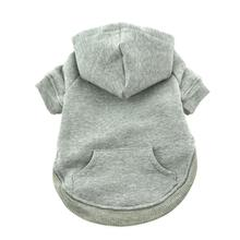 Flex-Fit Dog Hoodie by Doggie Design - Gray