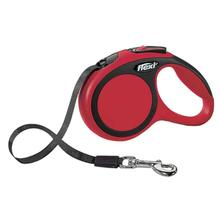 Flexi Comfort Tape Retractable Dog Leash - Red