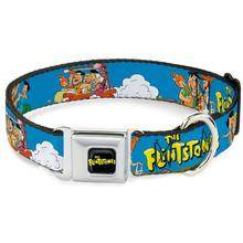 The Flintstones Seatbelt Buckle Dog Collar by Buckle-Down