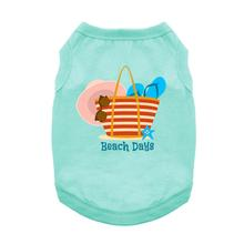 Beach Days Dog Shirt - Teal