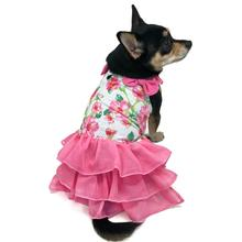 Floral Flounce Dog Dress by Dogo