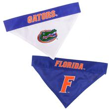 Florida Gators Reversible Dog Bandana Collar Slider