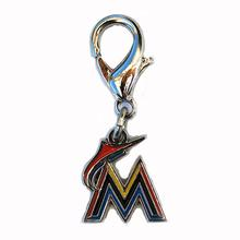 Florida Marlins Logo Dog Collar Charm