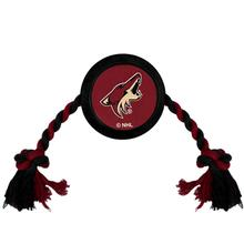 Arizona Coyotes Hockey Puck Dog Toy