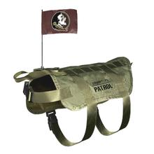 Florida State Seminoles Tactical Vest Dog Harness