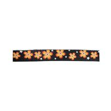Flower 5' Dog Leash by Cha-Cha Couture - Black