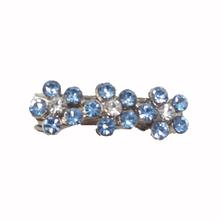 Flower Barrette by foufou Dog - Blue