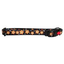 Flower Dog Collar by Cha-Cha Couture - Black