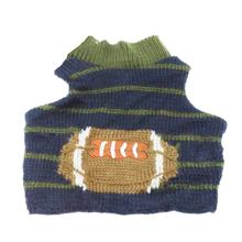 Football Dog Sweater by Cha-Cha Couture