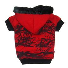 Forrester Dog Hoodie - Red