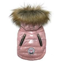 Foucler Luxe Dog Coat - Baby Pink