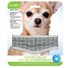 fouFIT Cooling Dog Collar - Grey