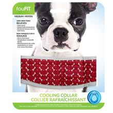 fouFIT Cooling Dog Collar - Red